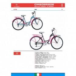 Bicicletta City Bike Fausto...