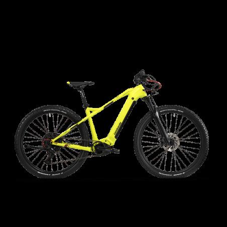 Bicicletta MTB BIANCHI Celeste Puro col.nero biammortizzata 21 vel. SCONTO -50%