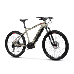 Cyclette Home Fitness High Power Bk 400 cianco-grigio fumo