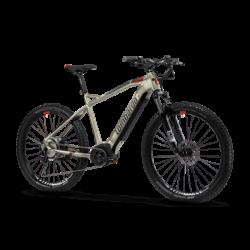 Cyclette Home Fitness High Power Bk 400 cianco-grigio fumo